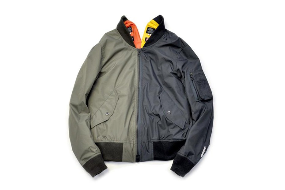 Image of Journal Standard x 02DERIV. 2013 Spring/Summer SPECIAL MA-1 JACKET