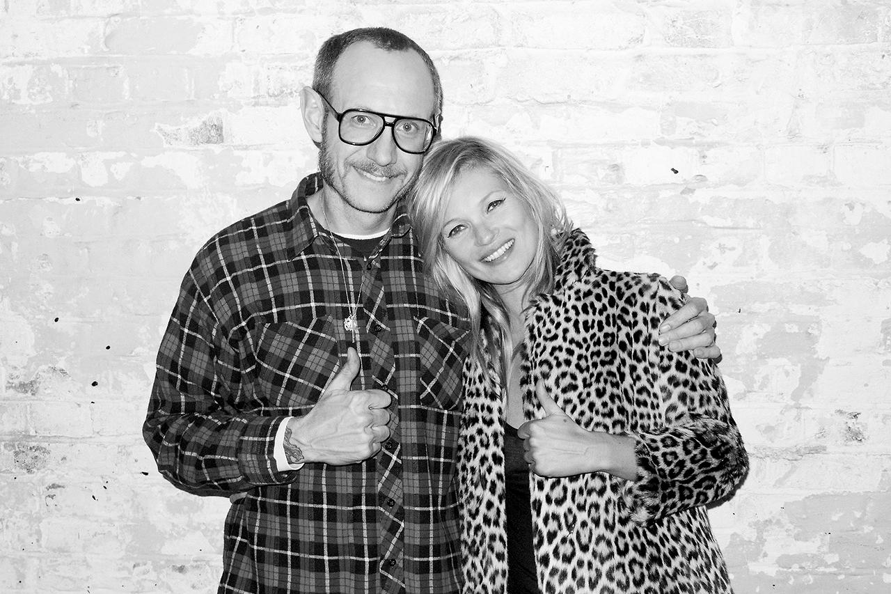 Image of Kate Moss Returns to Terry Richardson's Studio