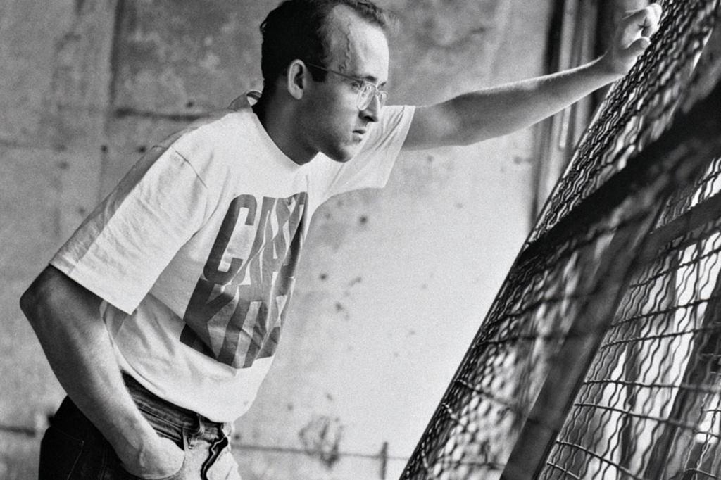 "Image of Keith Haring ""The Political Line"" Retrospective Exhibition @ MAM Paris"