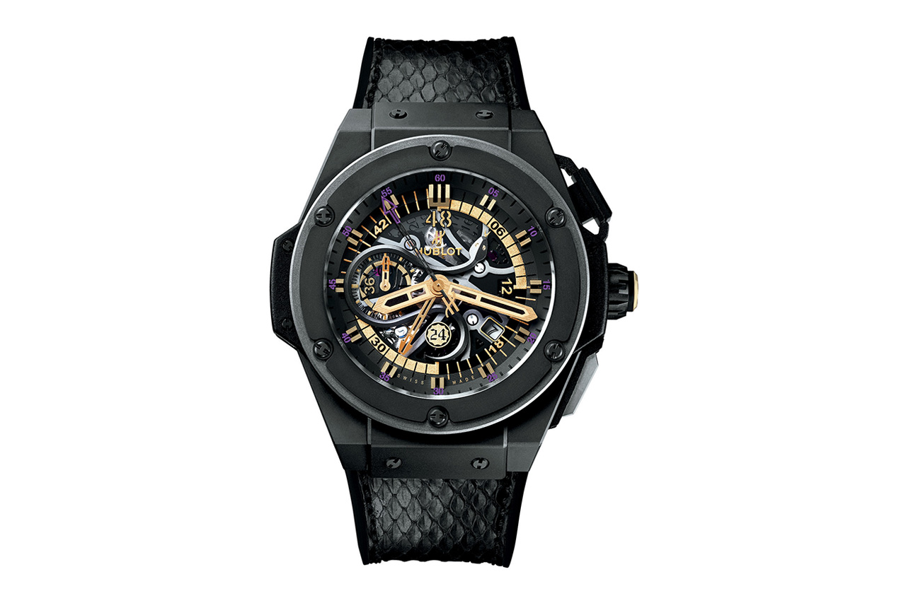 Image of Kobe Bryant x Hublot King Power Black Mamba Chronograph