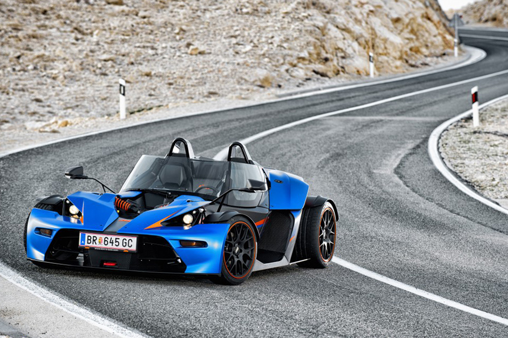 Image of KTM X-Bow to Feature the Audi TT RS Five-Cylinder Turbo Under the Hood