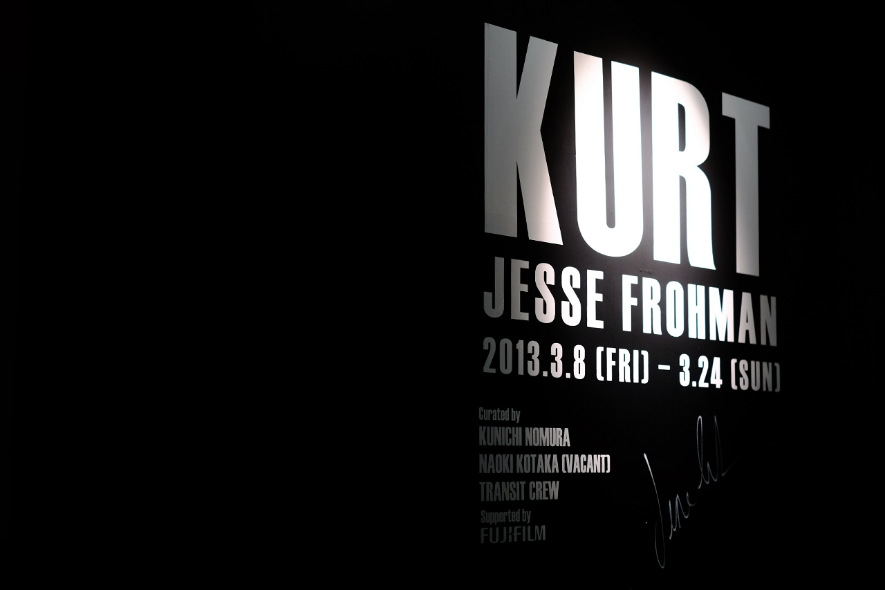 "Image of Jesse Frohman ""KURT"" Exhibition @ Opening Ceremony Tokyo"