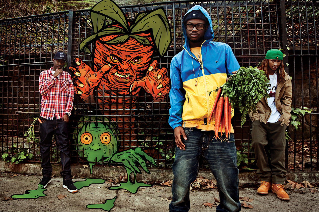 Image of LRG's New Campaign Pair Casey Veggies and Pac Div Alongside KC Ortiz and Pose