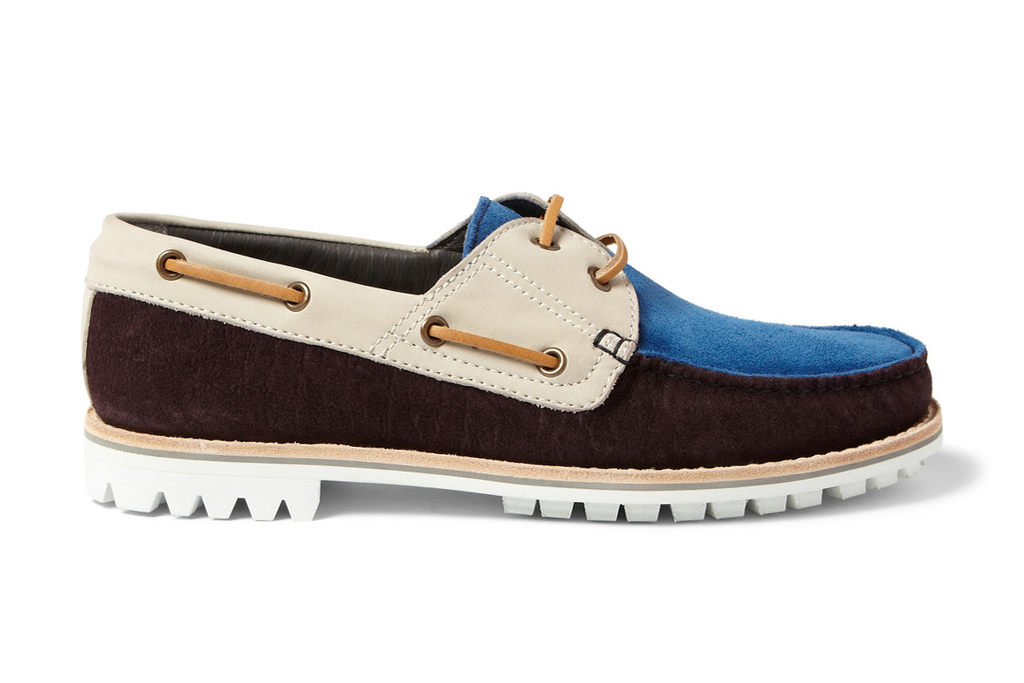 Image of Lanvin 2013 Spring/Summer Suede and Nubuck Boat Shoes