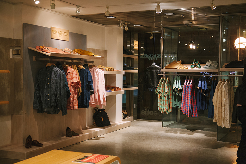 Image of Levi's Made & Crafted x Uncle Otis Shop-in-Shop