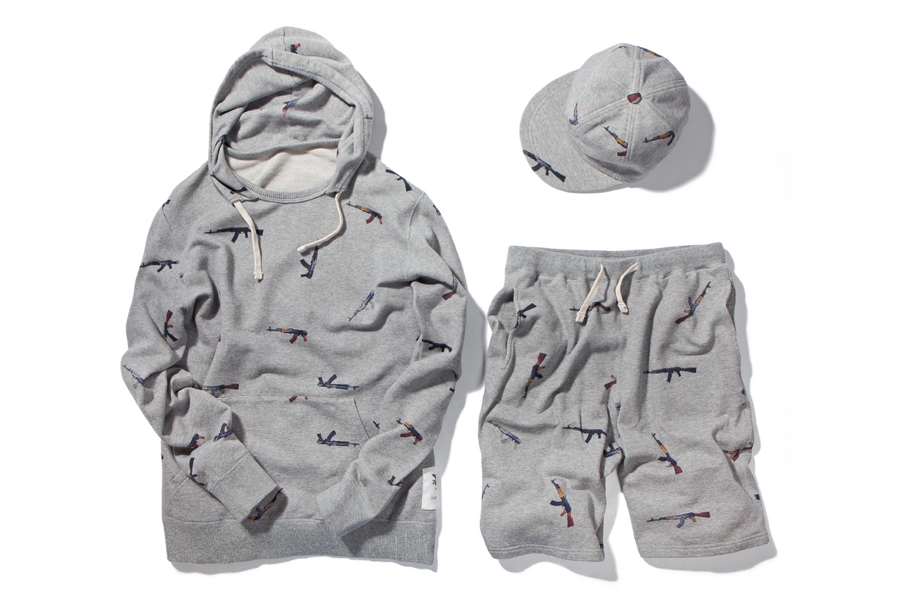 """Image of Mark McNairy for Heather Grey Wall """"AK47"""" Collection"""