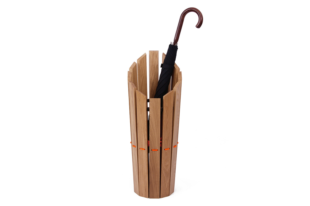 Image of Method Studio x London Undercover Oak Umbrella Stand