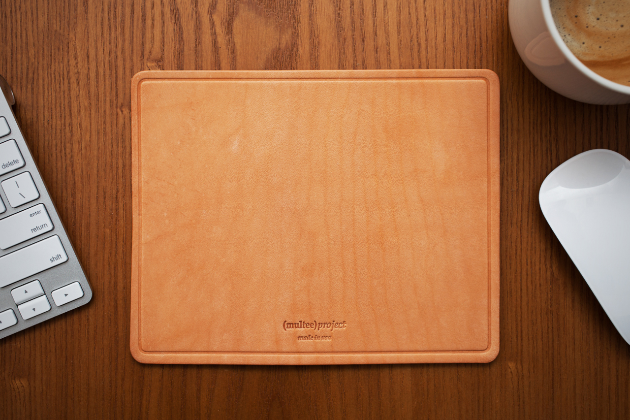 Image of (multee)project Leather Mouse Pads