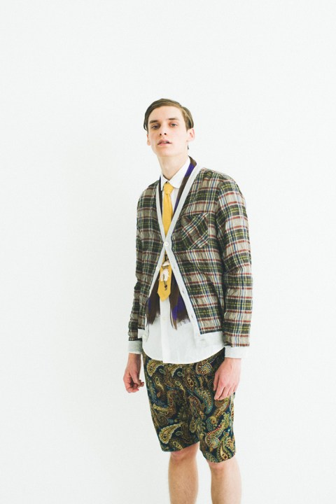 "Image of NEPENTHES 2013 Spring/Summer ""Pattern Chasing"" Lookbook"