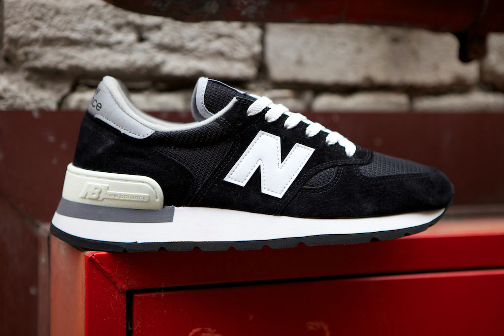 "Image of New Balance 990 ""Made in USA"" Black"