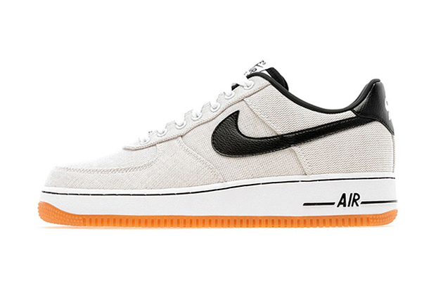 Image of Nike 2013 Spring/Summer Air Force 1 Low White Canvas