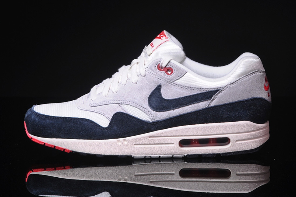 Image of Nike Air Max 1 OG Sail/Dark Obsidian-Neutral Grey