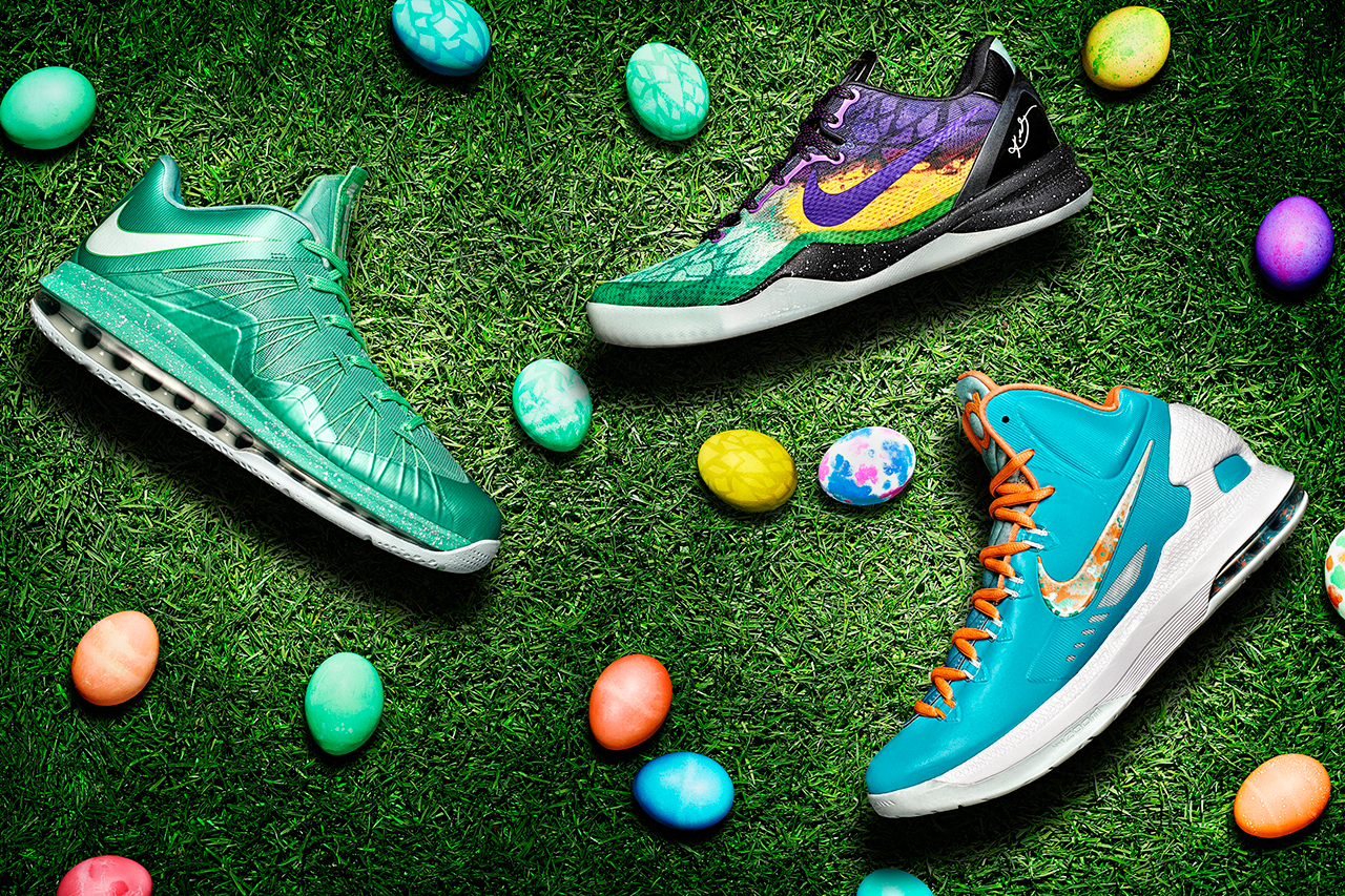 Image of Nike Basketball 2013 Easter Footwear Collection