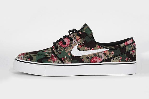 """Image of Nike SB 2013 Spring/Summer Zoom Stefan Janoski """"Digital Floral"""""""