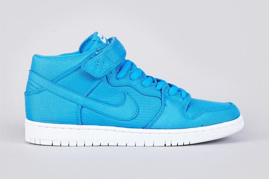 "Image of Nike SB Dunk Mid Pro ""Photo Blue"""