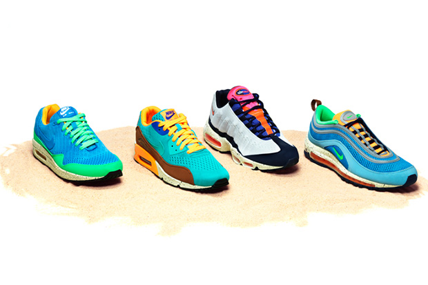 """Image of Nike 2013 Spring/Summer Air Max """"Beaches of Rio"""" Pack"""