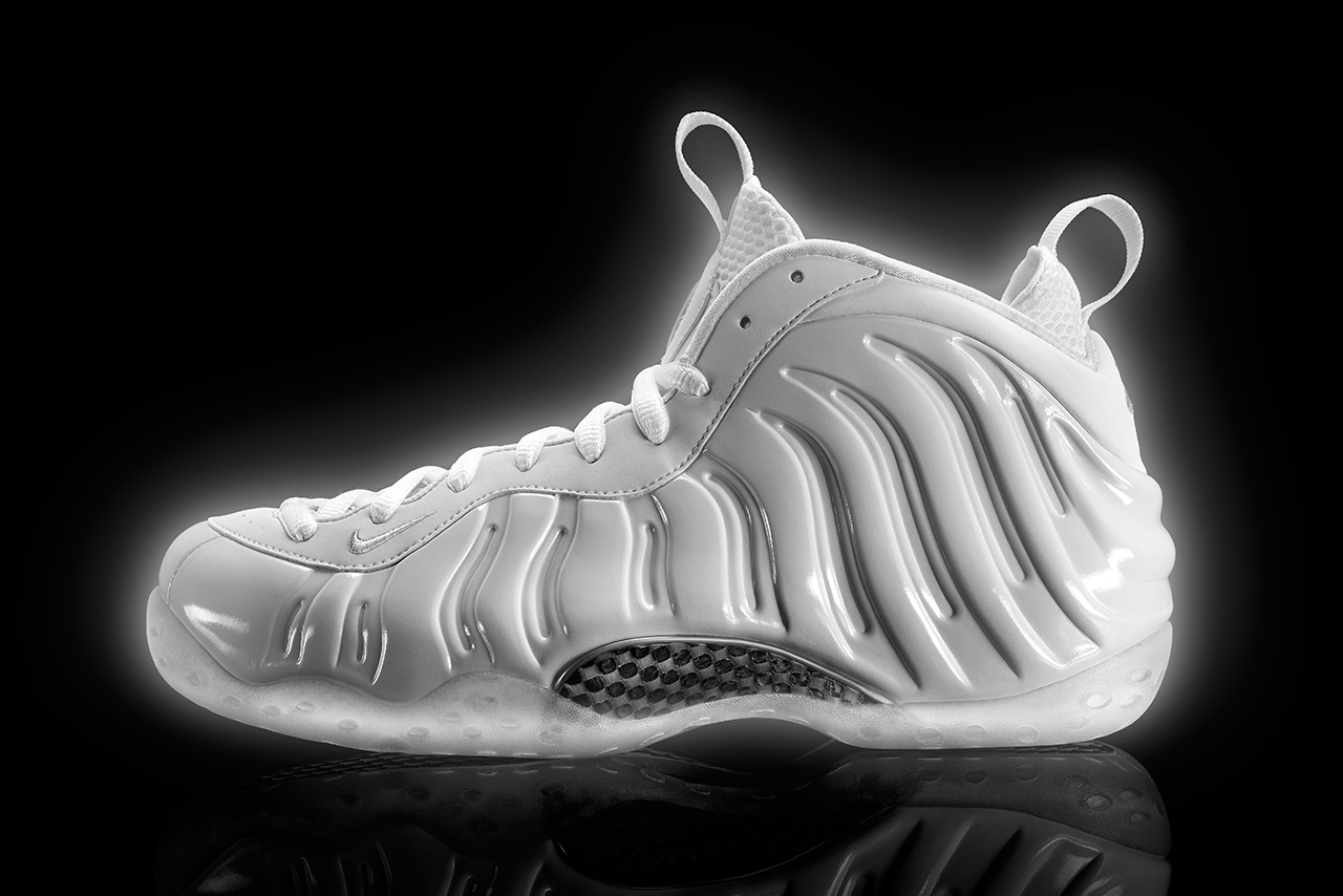 Image of Nike Unveils the White-On-White Air Foamposite One