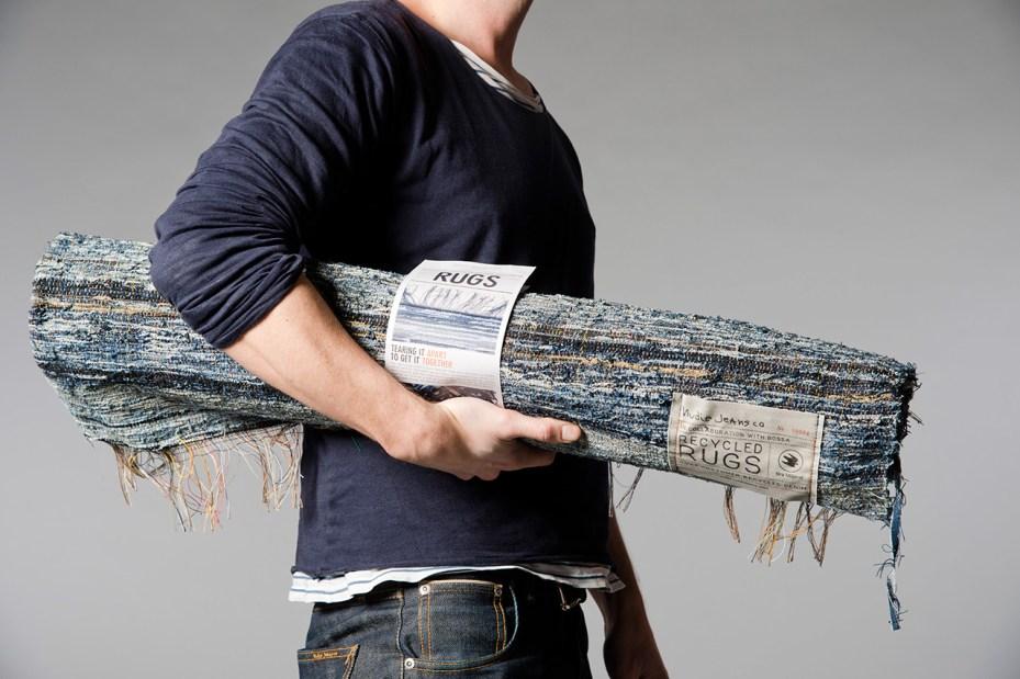 Image of Nudie Jeans Post Recycled Denim Rugs