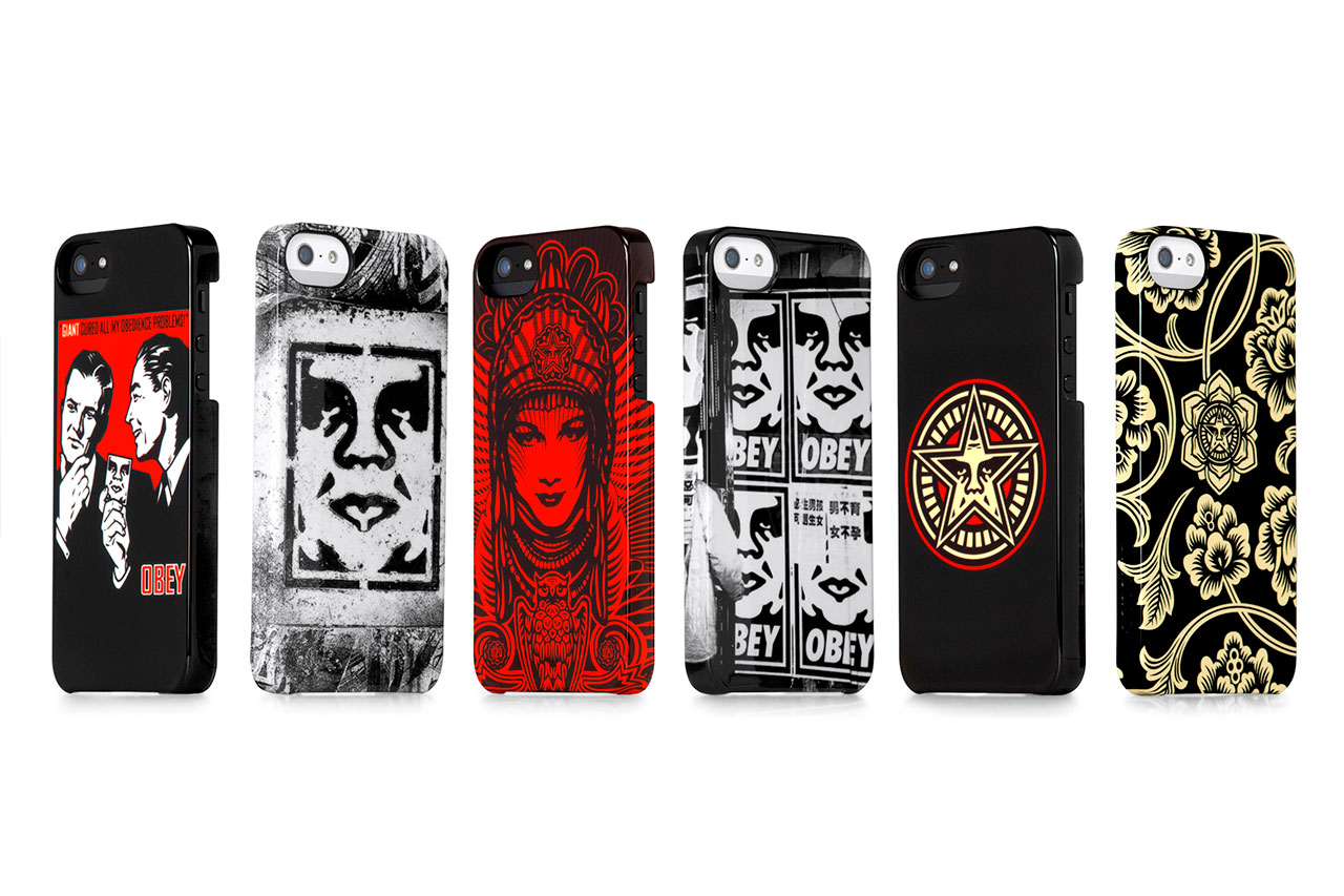 Image of OBEY x Incase 2013 Spring iPhone 5 Snap Case Collection
