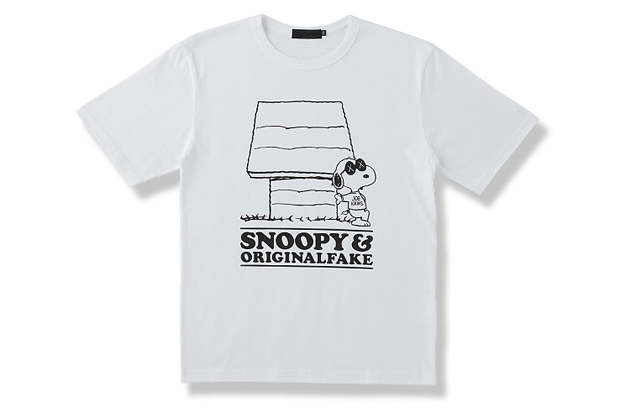 Image of OriginalFake x Peanuts Joe KAWS Tee