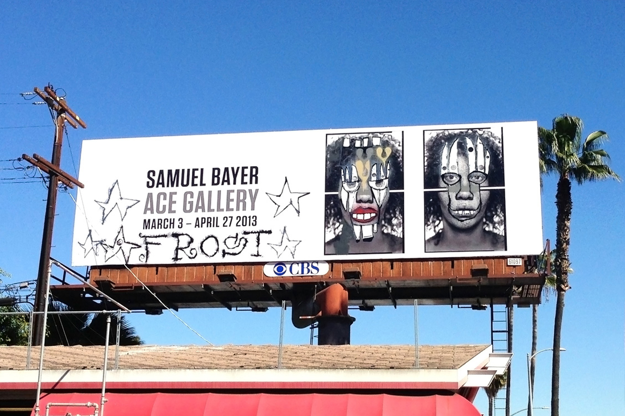 Image of Phil Frost and Samuel Bayer's $50K USD Billboard Stolen in Los Angeles