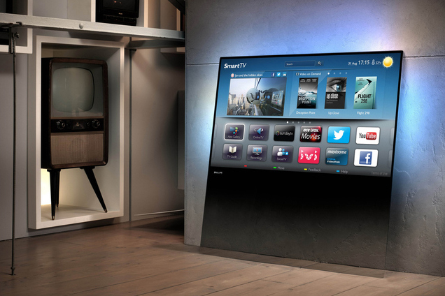 Philips design line tv