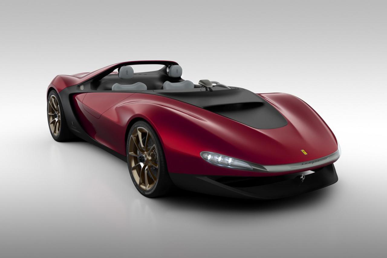 Image of Pininfarina's Ferrari-Based Sergio Concept