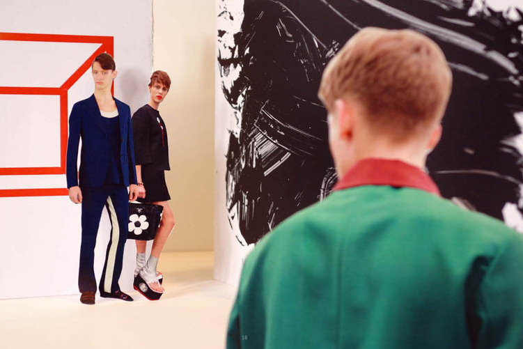 "Image of Prada 2013 Spring/Summer ""Fantasy"" Lookbook"