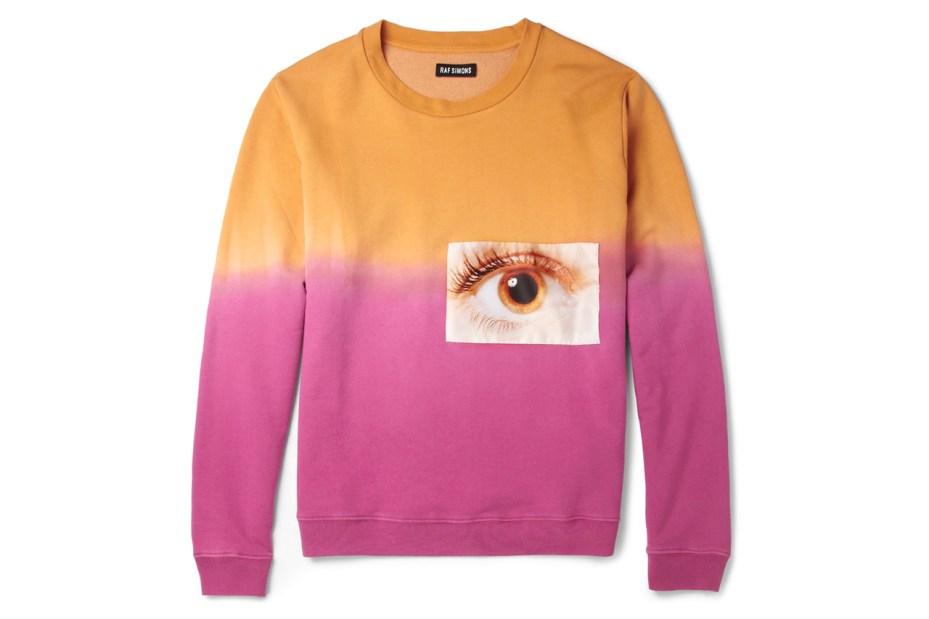Image of Raf Simons Printed Jersey Sweatshirt