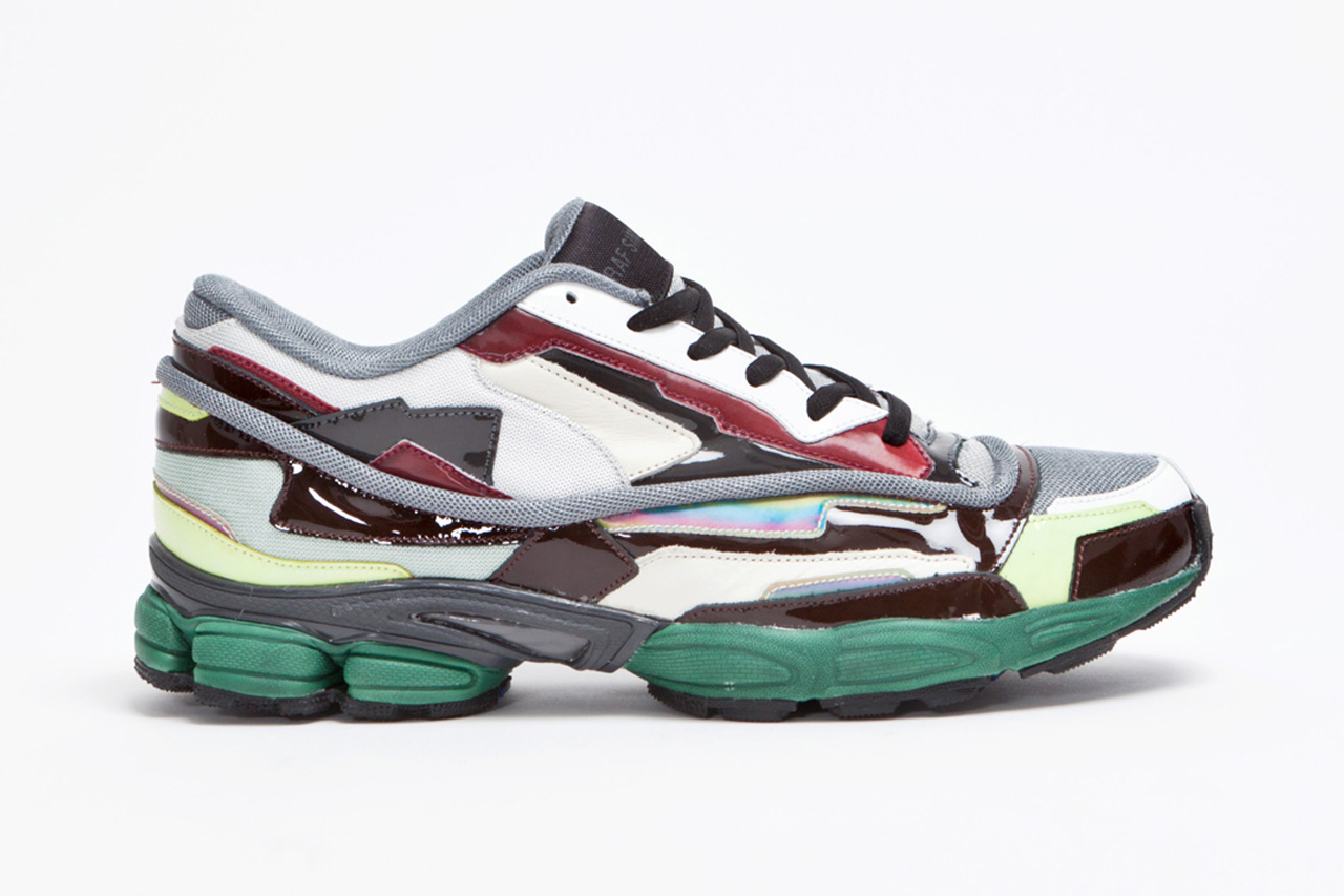raf simons panelled running shoe hypebeast. Black Bedroom Furniture Sets. Home Design Ideas
