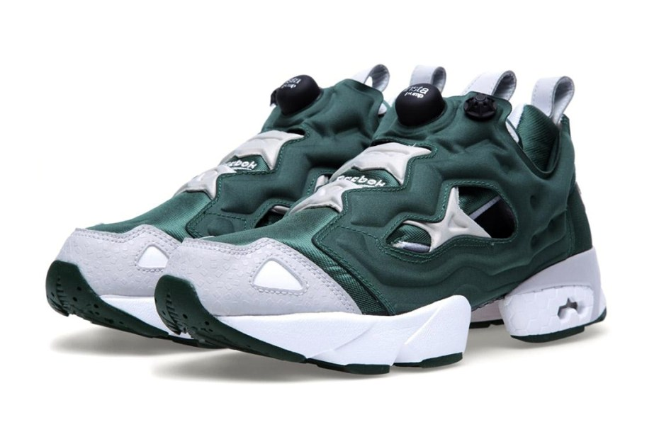 Image of Reebok Insta Pump Fury &quot;Racing Green&quot;