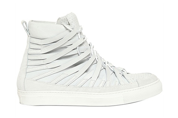 Image of Damir Doma 2013 Spring/Summer Cut Out & Embossed Leather Sneakers