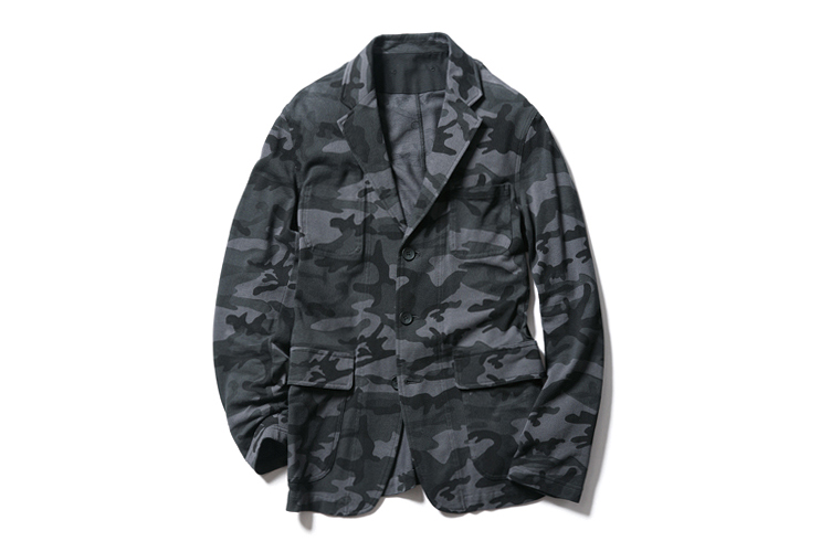 Image of SOPHNET. 2013 Spring/Summer Camouflage Seed Stitch Jacket