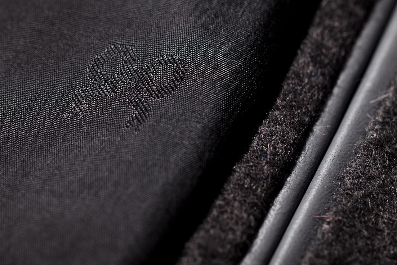 Image of Soulland x House of Billiam Grey Wool Varsity Jacket
