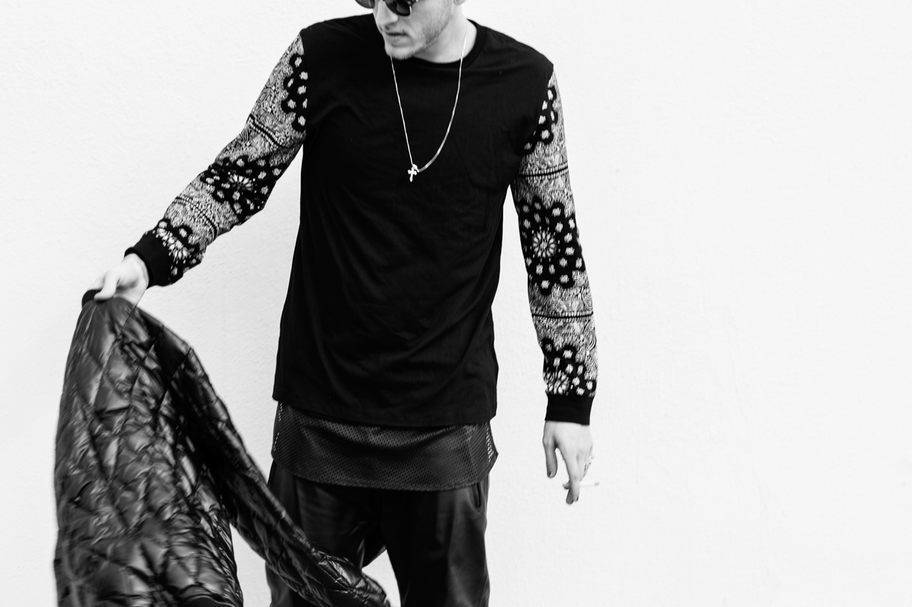 Image of Stampd Paisley Long Sleeve T-Shirt