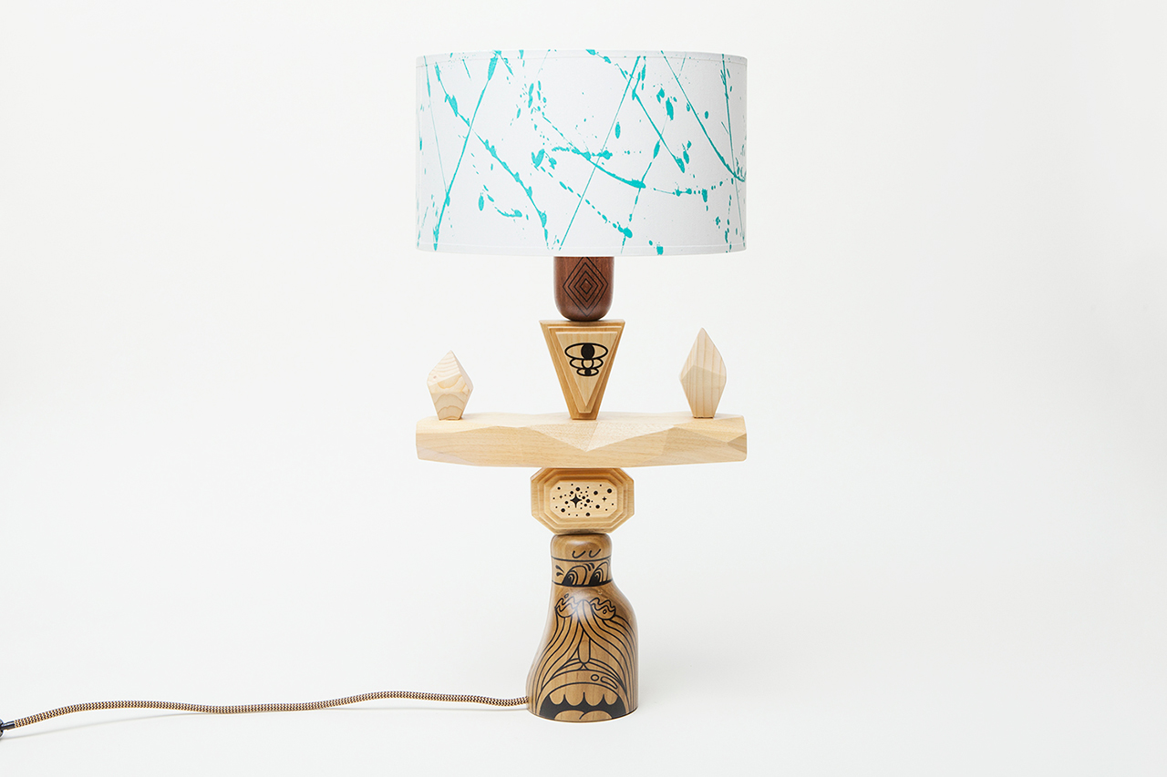 "Image of Steven Harrington x Case Studyo ""REMAIN IN BALANCE"" Lamp Collection"