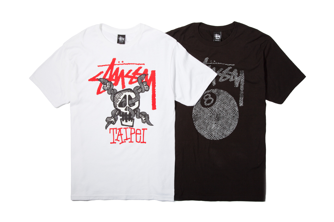 Image of Stussy Taiwan Grand Opening T-Shirt Collection