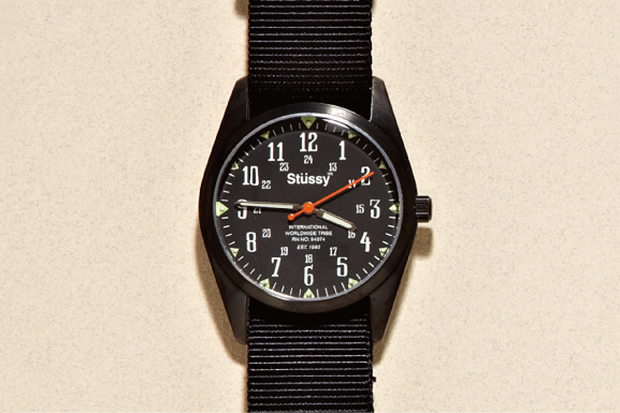"Image of Stussy Time ""Oran"" Watch"