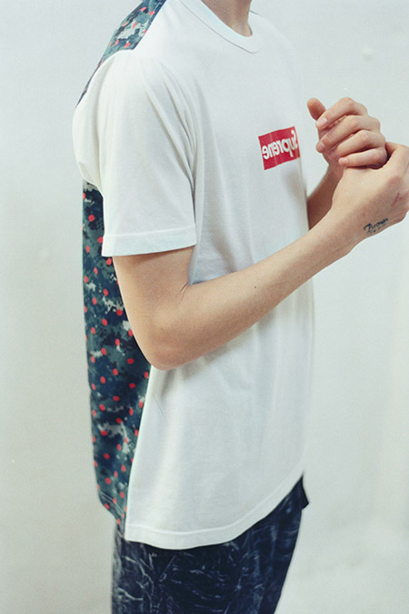 Image of Supreme x COMME des GARCONS SHIRT 2013 Capsule Collection Lookbook