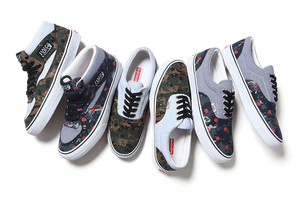 Image of Supreme x COMME des GARCONS SHIRT x Vans 2013 Collection