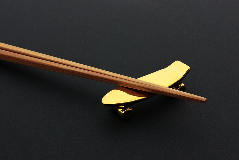 Image of Talky Pika Pika Skateboard Chopstick Rest