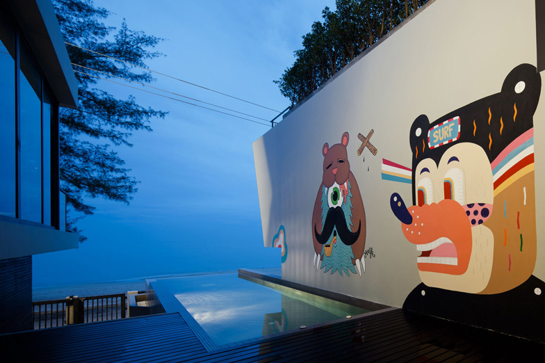 Image of Thailand's Bearbrick-Inspired Bear House