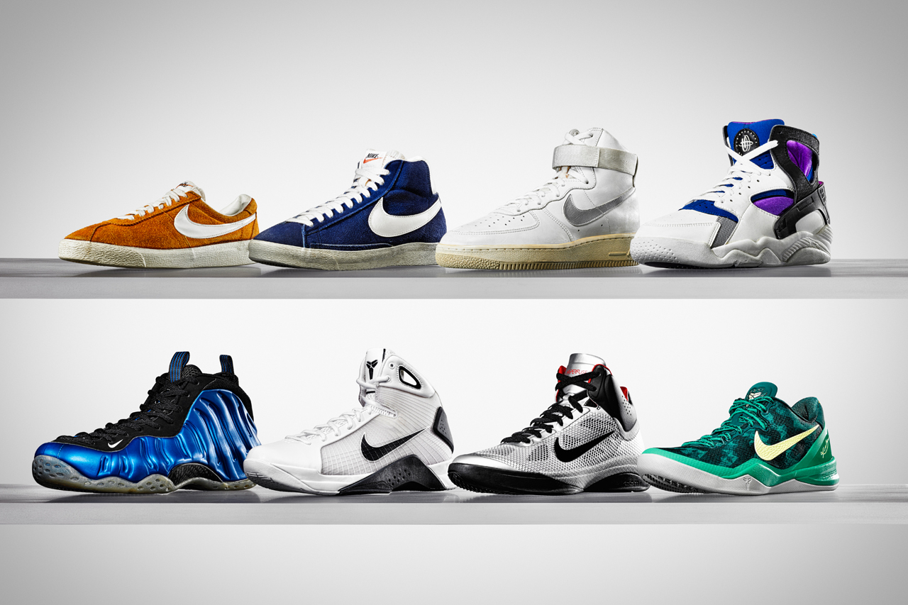 Image of The Evolving Uppers of Nike Basketball