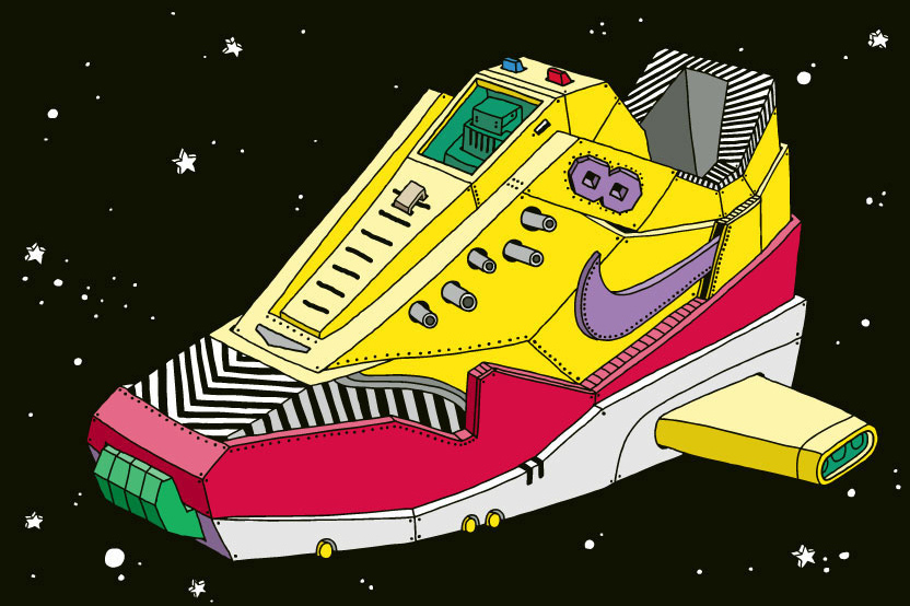 Image of The Space Sneaker Project by Ghica Popa