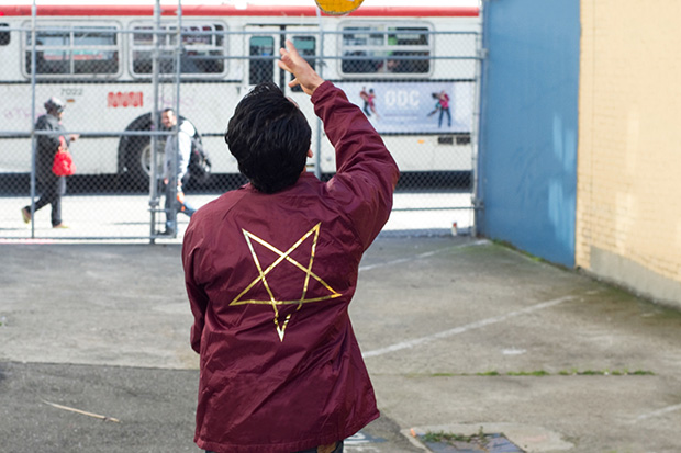 Image of Thrasher 2013 Spring Pentagram Coach Jacket