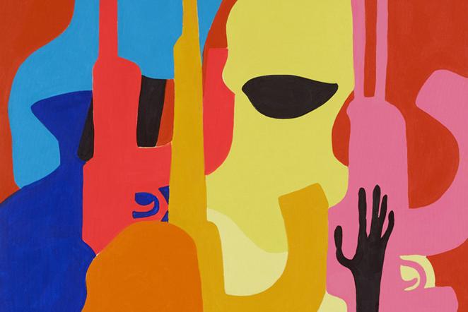 "Image of Todd James ""World Domination"" Exhibition @ Lazarides Gallery"