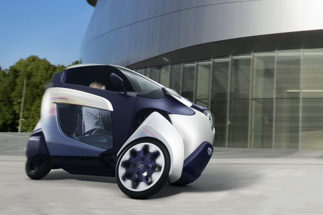 Image of Toyota i-ROAD Concept