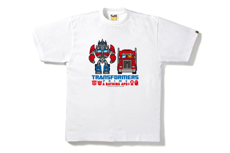 Image of Transformers  x A Bathing Ape 2013 Capsule Collection