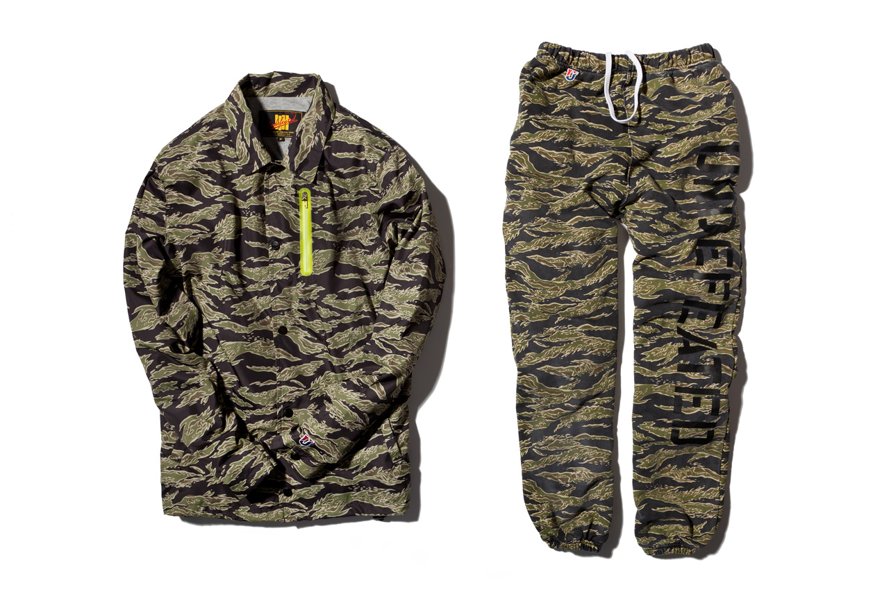 Image of Undefeated 2013 Spring/Summer Olive Tiger Camo Collection
