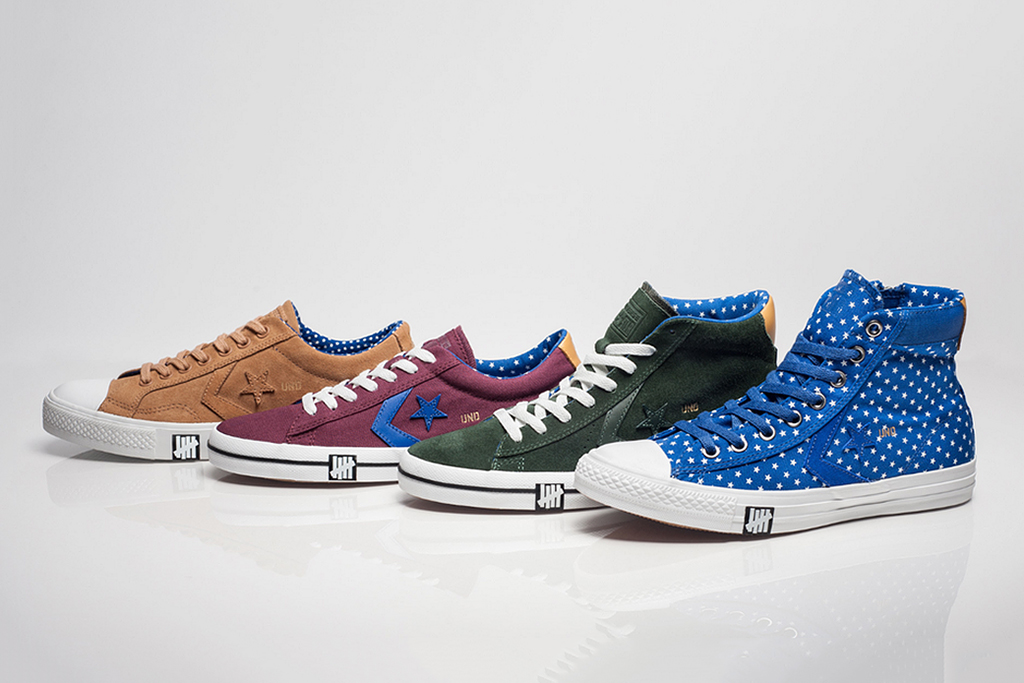 """Image of Undefeated x Converse 2013 Spring/Summer """"Born Not Made"""" Collection"""